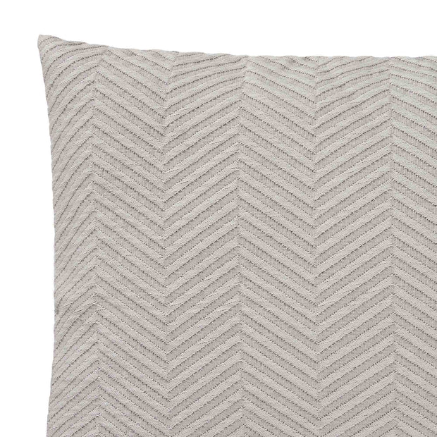 Lixa Cushion grey melange, 100% cotton | URBANARA cushion covers