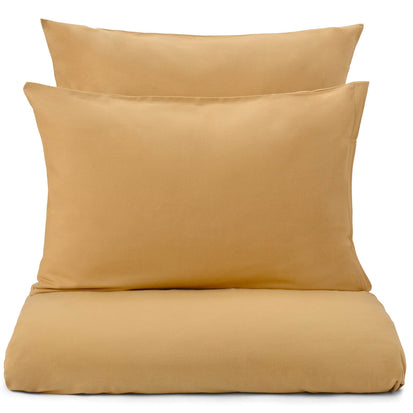Montrose duvet cover, mustard, 100% cotton