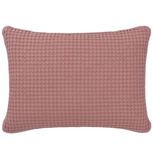 Veiros cushion cover, dusty pink, 100% cotton