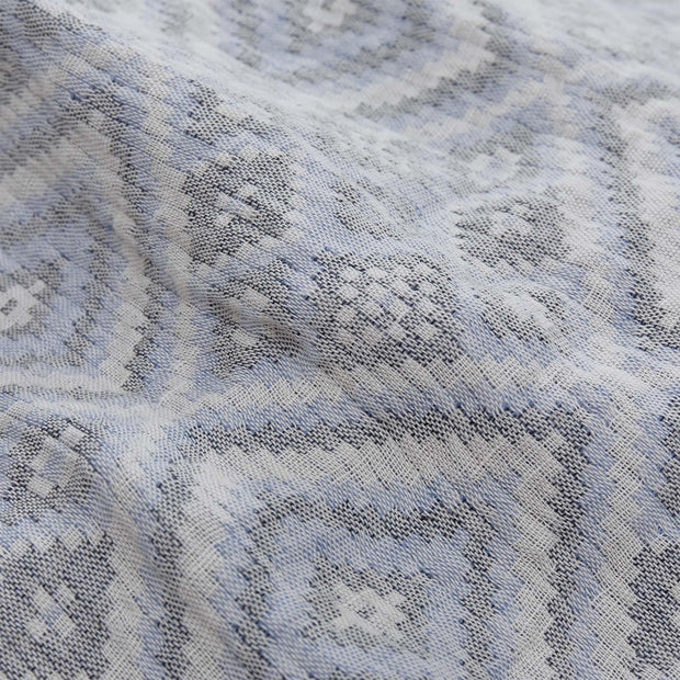 Blue & Off-white & Black Idanha Tagesdecke | Home & Living inspiration | URBANARA