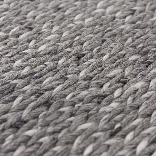 Collico rug, light grey, 50% wool & 50% viscose |High quality homewares
