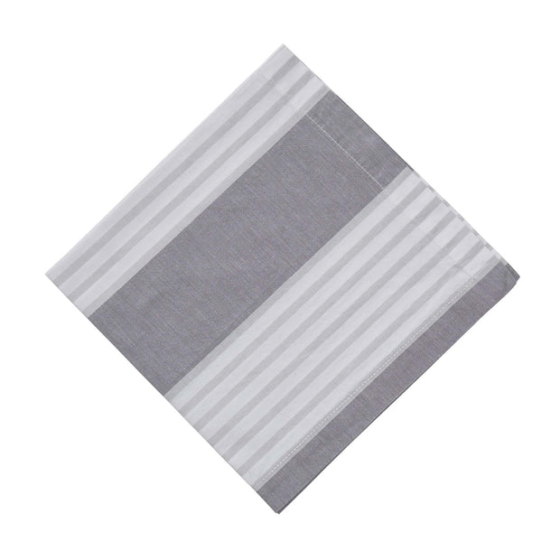Odemira napkin, grey & light grey & white, 100% cotton