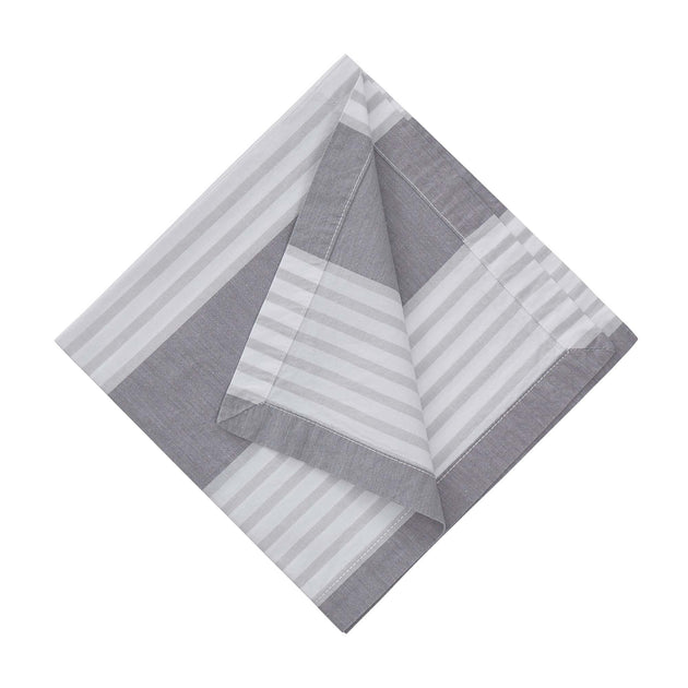 Grey & Light grey & White Odemira Serviette | Home & Living inspiration | URBANARA