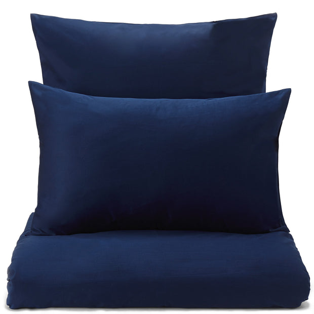 Millau pillowcase, dark blue, 100% cotton