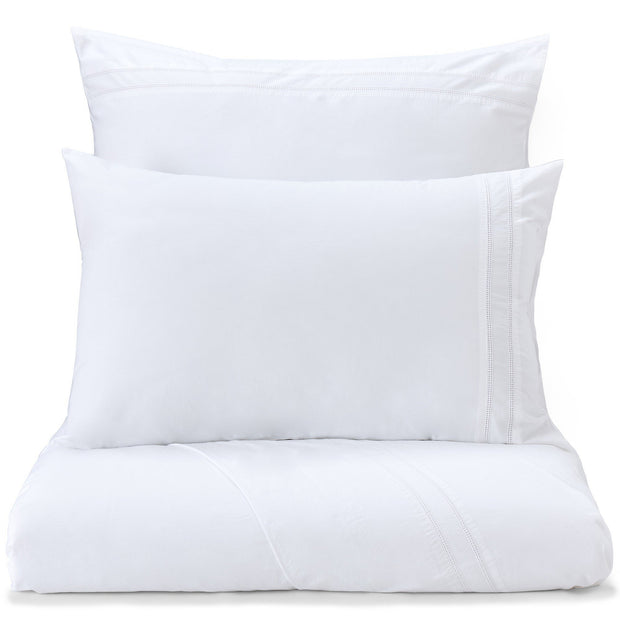Braga pillowcase, white, 100% cotton