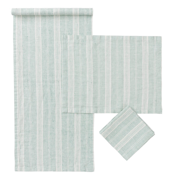 Mint & White Lusis Tischdecke | Home & Living inspiration | URBANARA
