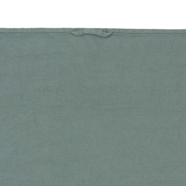 Minija tea towel, green grey, 100% linen | URBANARA dishcloths