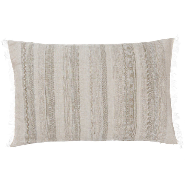 Bundi blanket in clay & cream, 60% linen & 40% silk |Find the perfect silk blankets