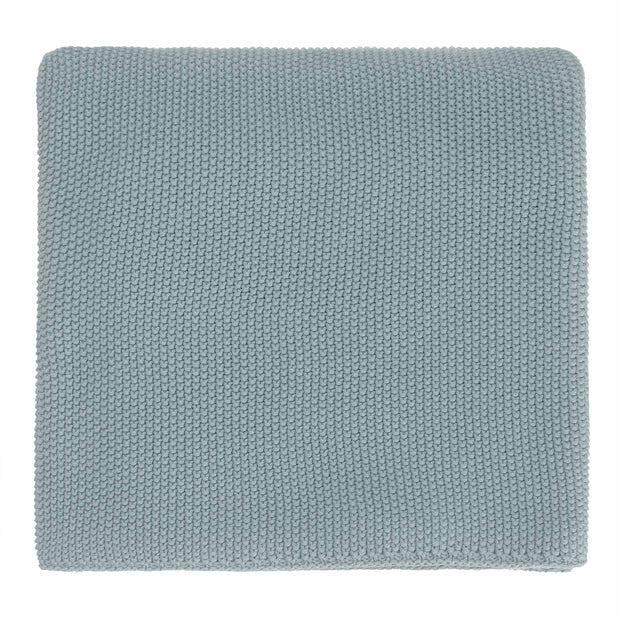 Antua Cotton Blanket green grey, 100% cotton