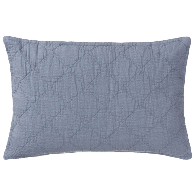 Lousa cushion, light grey blue, 100% linen
