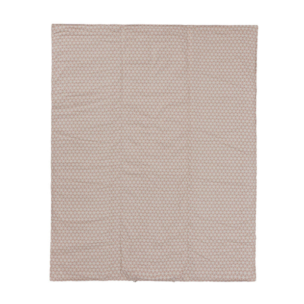 Saldanha Picnic Blanket powder pink & natural & grey, 75% cotton & 25% linen | Find the perfect picnic blankets