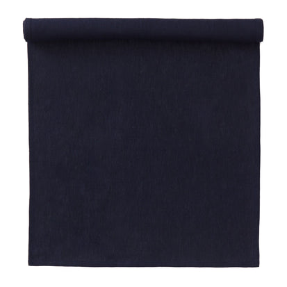 Teis table runner, dark blue, 100% linen