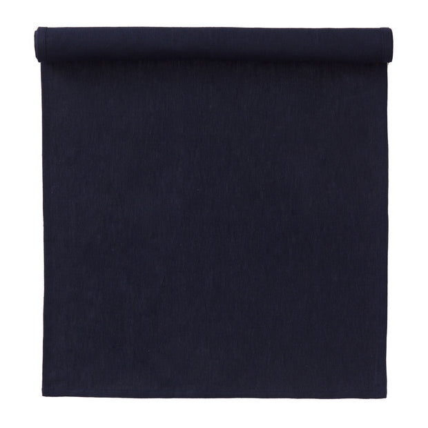 Teis table cloth, dark blue, 100% linen |High quality homewares
