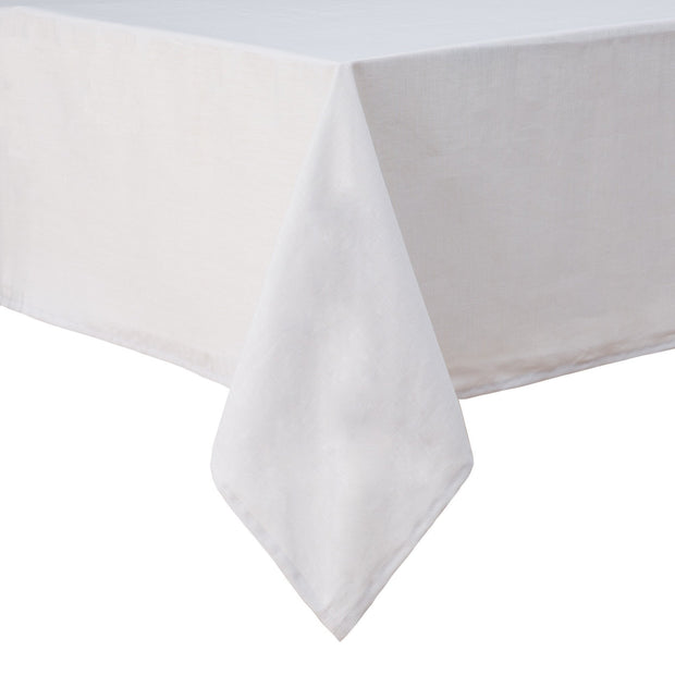 Teis table cloth, light grey, 100% linen