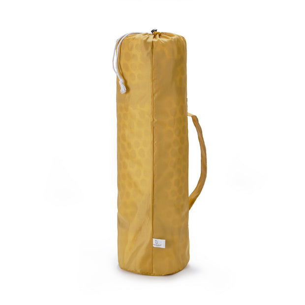 Luo Picnic Blanket & Bag Set [Mustard/Natural white/Black]