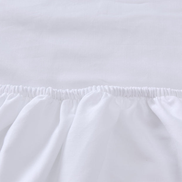 Marseille Fitted Sheet [White]