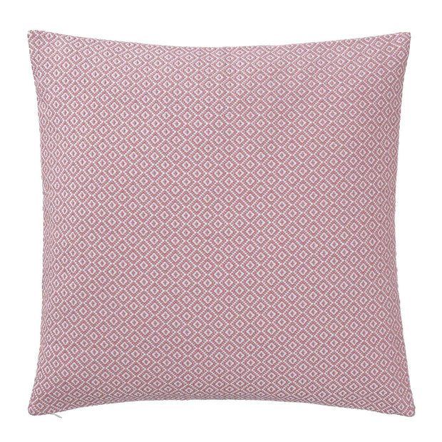 Mondego cushion cover, dusty pink & white, 100% cotton