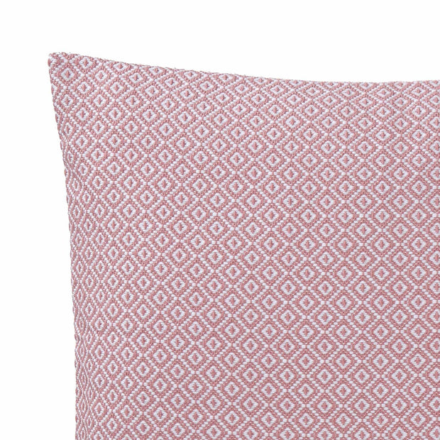 Mondego cushion cover, dusty pink & white, 100% cotton | URBANARA cushion covers
