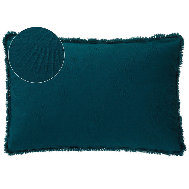 Espinho cushion cover, forest green, 100% cotton