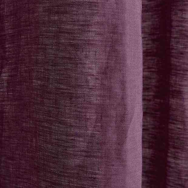 Lagoa Shower Curtain [Aubergine]