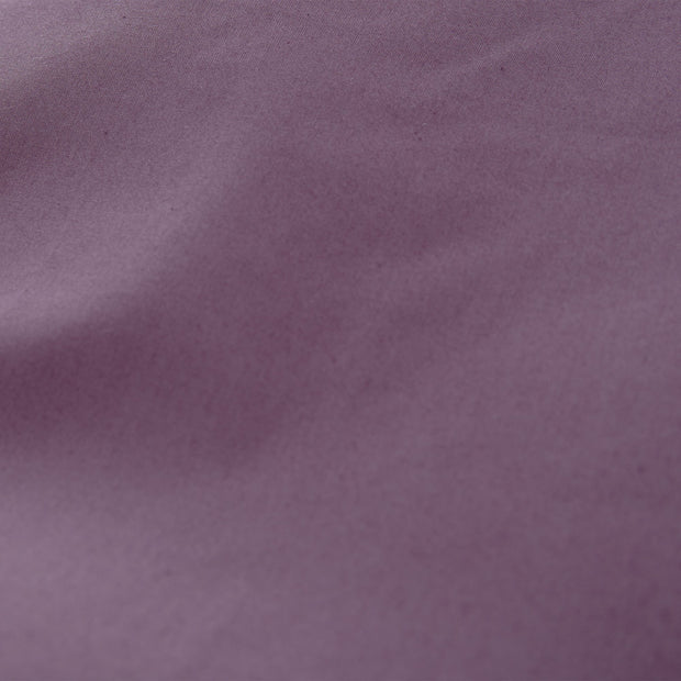 Manteigas pillowcase, aubergine, 100% organic cotton | URBANARA percale bedding