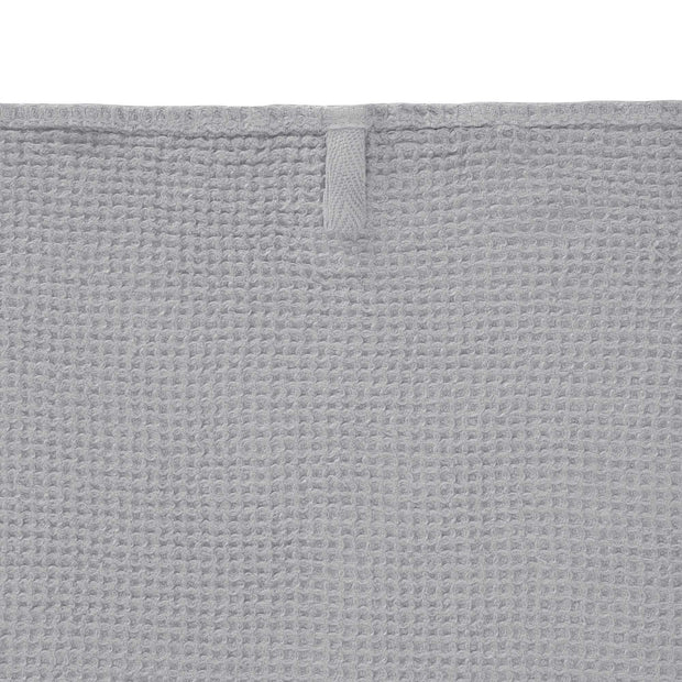 Neris hand towel, light grey, 100% linen |High quality homewares