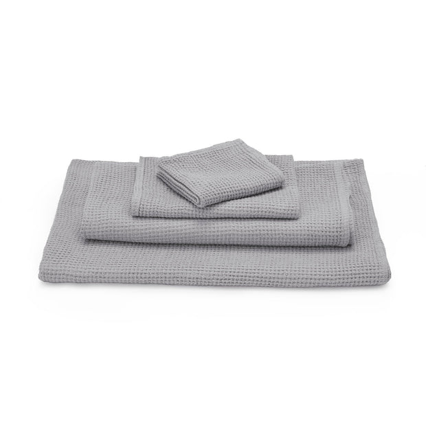 Neris hand towel, light grey, 100% linen