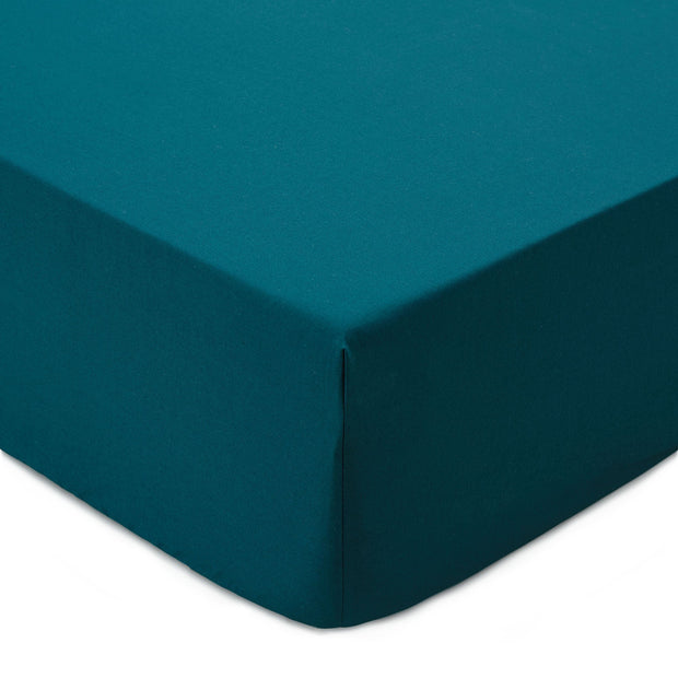 Manteigas fitted sheet, forest green, 100% organic cotton