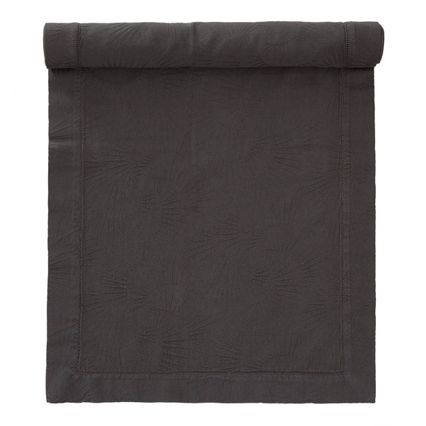 Espinho table runner, charcoal, 100% cotton