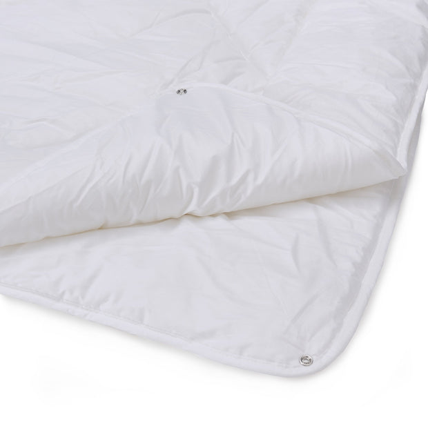 Elsing duvet, white, 100% polyester & 100% cotton |High quality homewares