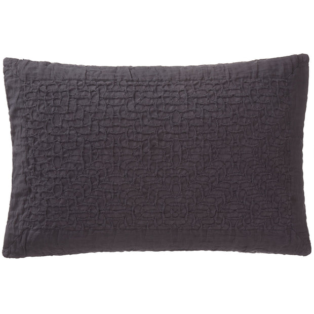 Alviela cushion cover, charcoal, 100% cotton