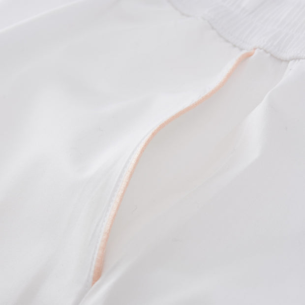Alva Pyjama Bottoms [White/Light pink]
