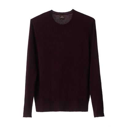 Nora jumper, bordeaux red, 50% cashmere wool & 50% wool