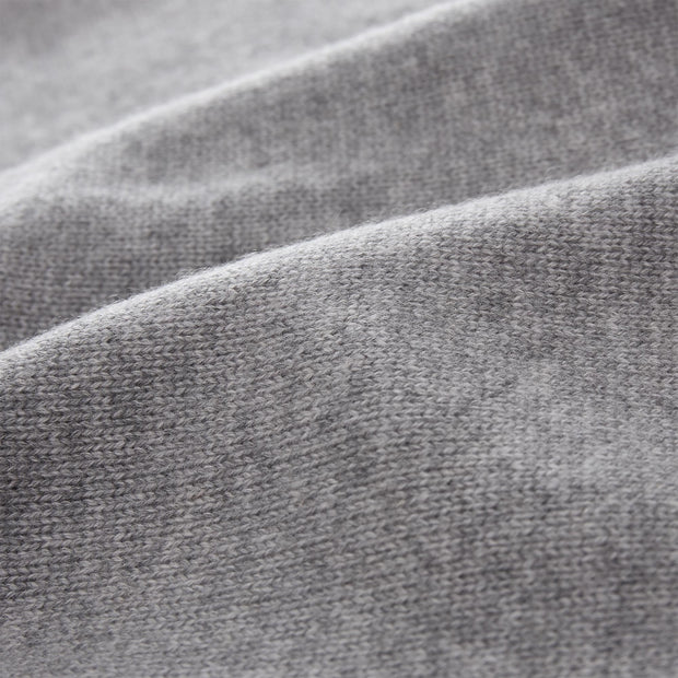 Nora cardigan in light grey, 50% cashmere wool & 50% wool |Find the perfect loungewear