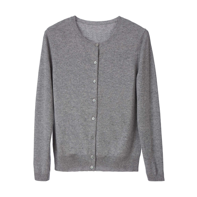 Light grey Nora Strickjacke | Home & Living inspiration | URBANARA