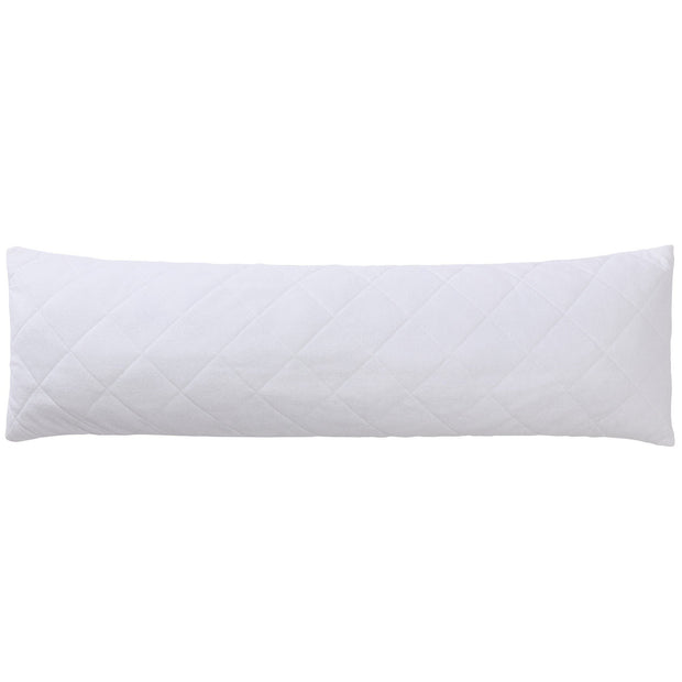 Haid pillow, white, 100% polyester & 50% cotton & 50% polyester