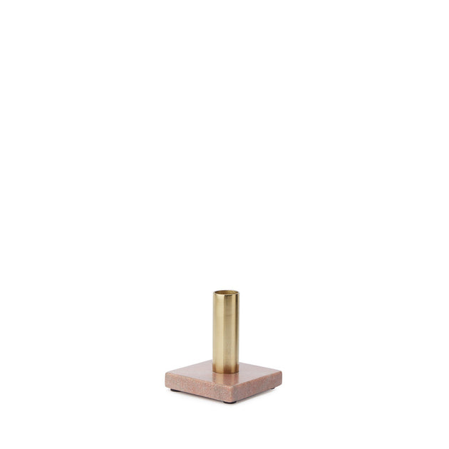 Light pink & Brass Chambal Kerzenhalter | Home & Living inspiration | URBANARA