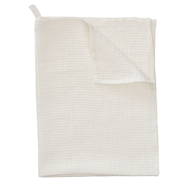 Meeris tea towel, natural white, 100% linen