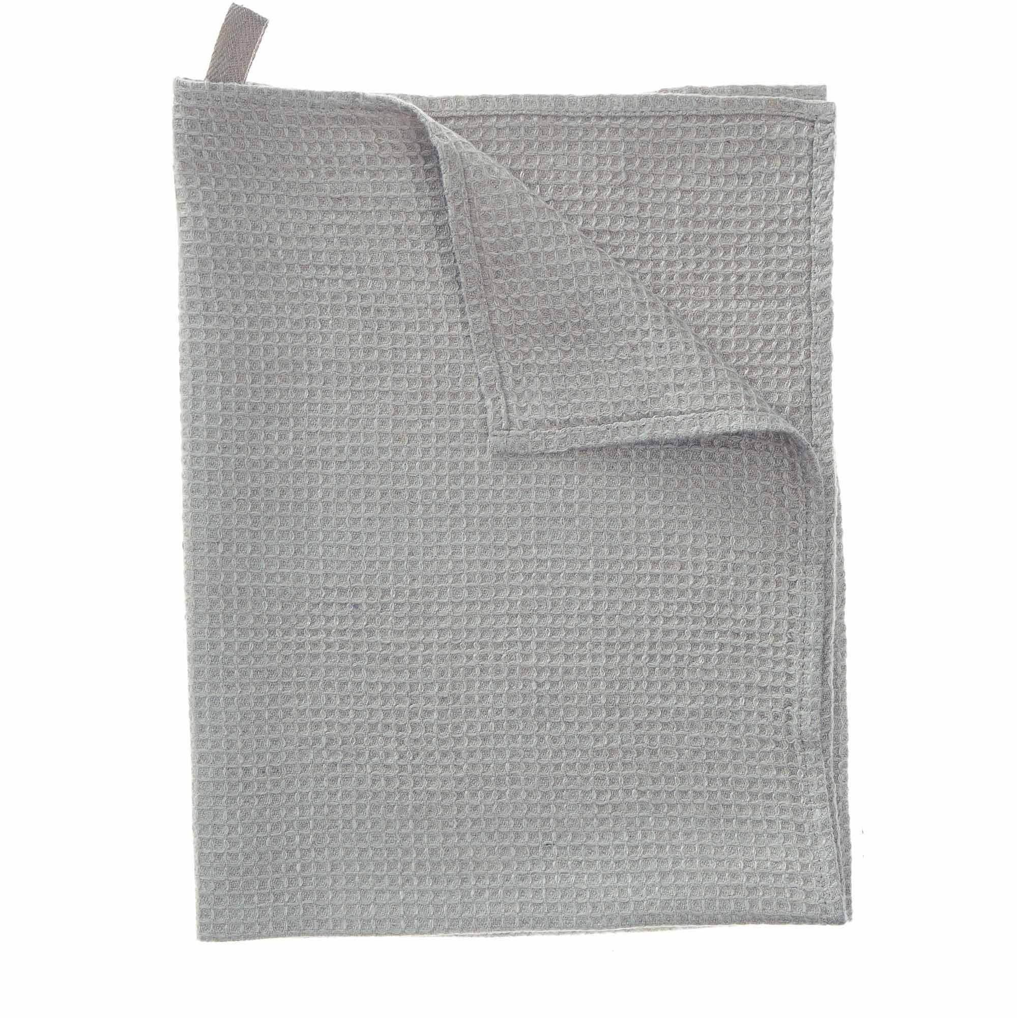 Meeris tea towel, light grey, 100% linen