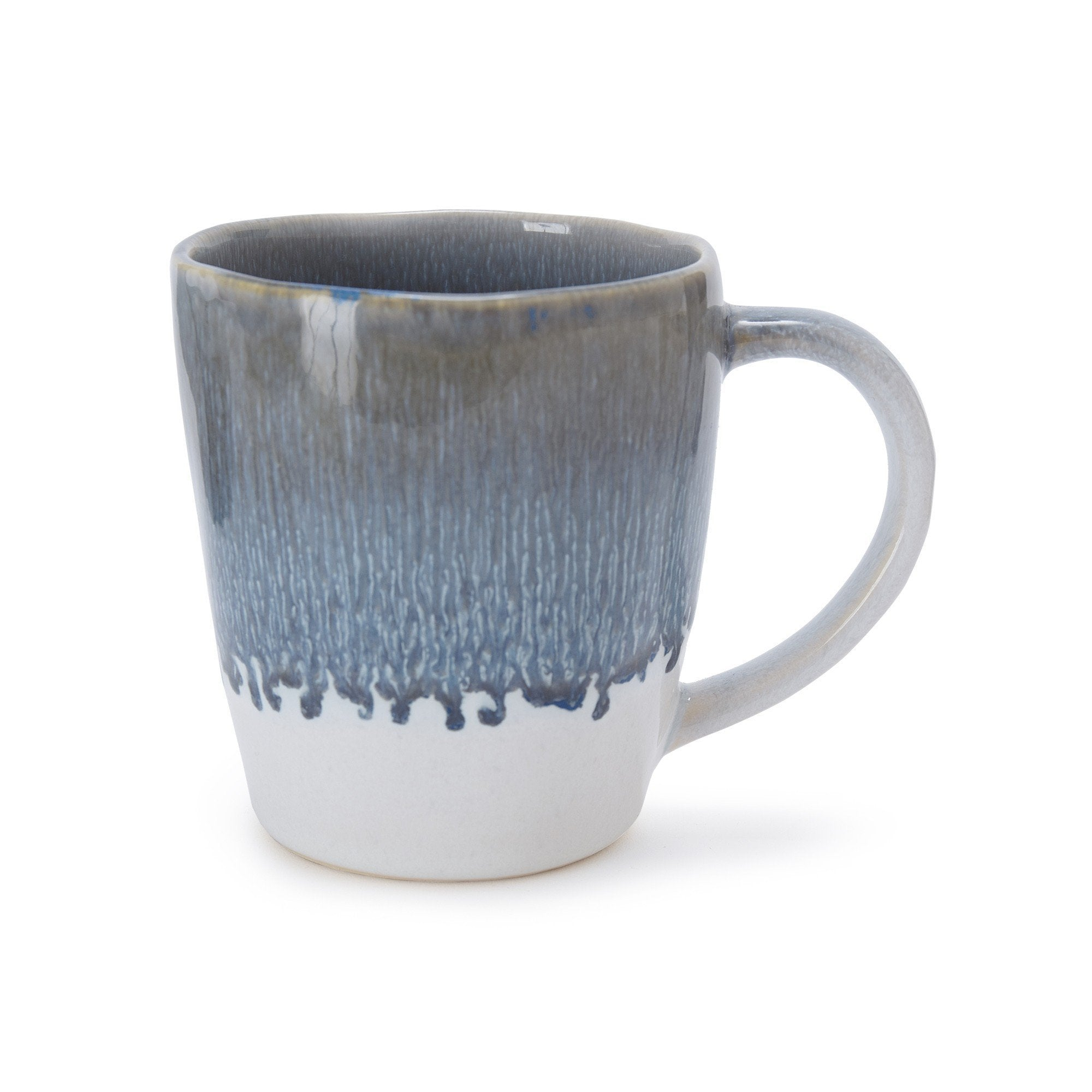 Caima Mug Set blue grey, 100% ceramic