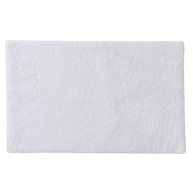 Banas bath mat, white, 100% cotton