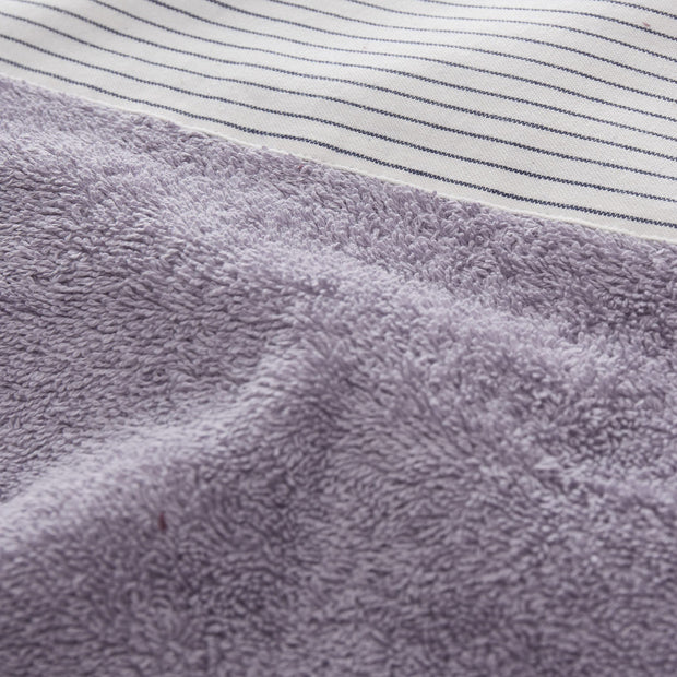 Luni beach towel, light purple grey, 100% cotton |High quality homewares