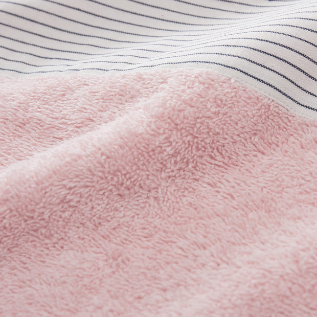 Luni beach towel in light pink, 100% cotton |Find the perfect beach towels