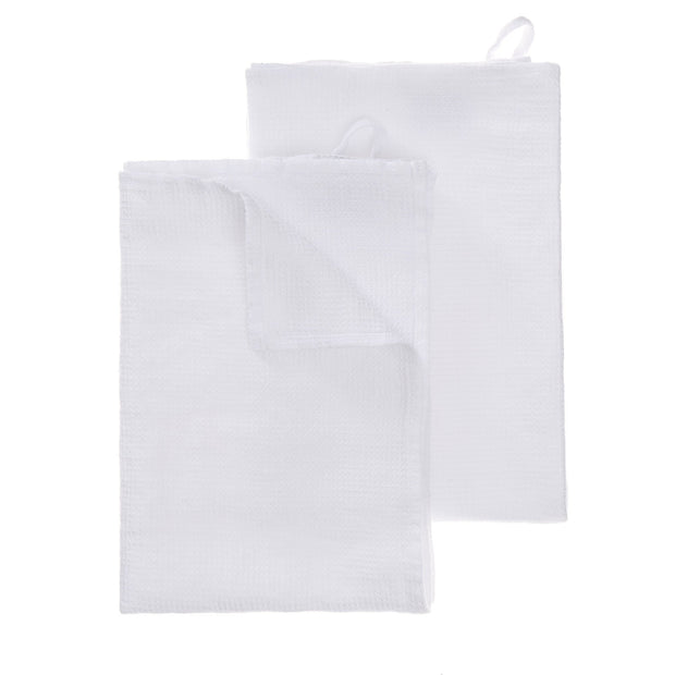 Minija tea towel, white, 100% linen