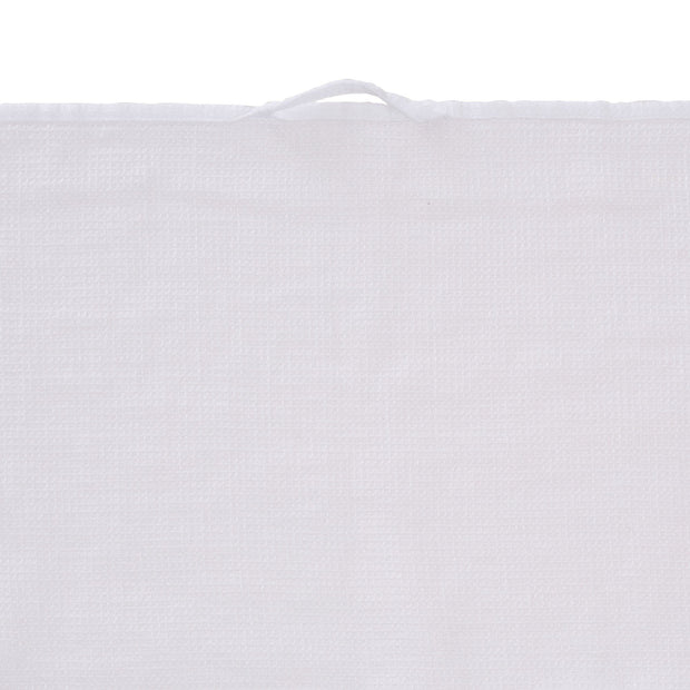 Minija tea towel, white, 100% linen | URBANARA dishcloths
