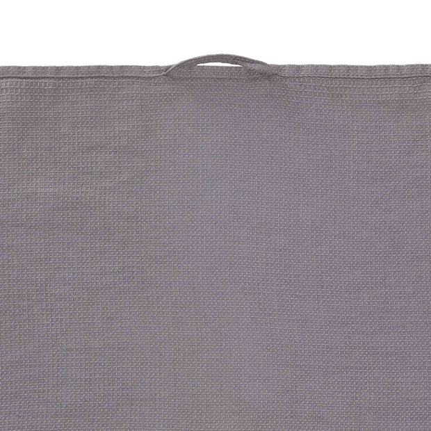 Minija tea towel, grey, 100% linen | URBANARA dishcloths