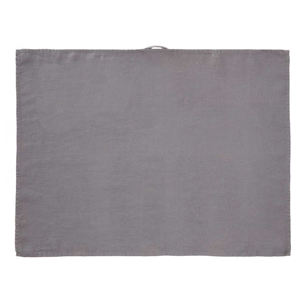 Minija tea towel, grey, 100% linen |High quality homewares