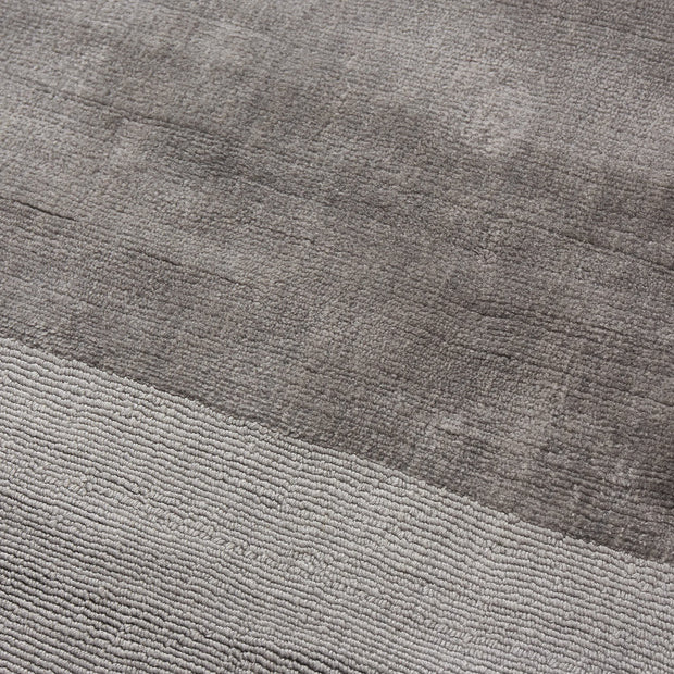Enns rug, grey, 100% viscose |High quality homewares