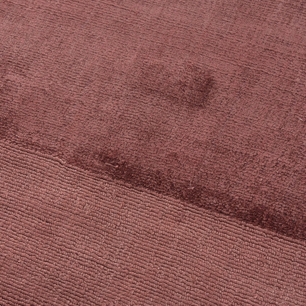 Enns rug in rosewood, 100% viscose |Find the perfect viscose rugs