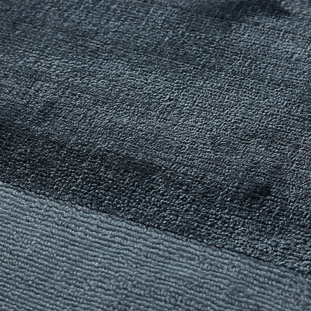 Enns rug, dark blue, 100% viscose |High quality homewares